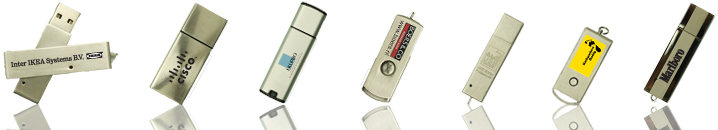 Metalen USB sticks