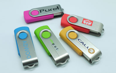 USB stick Twist - PMS kleuren
